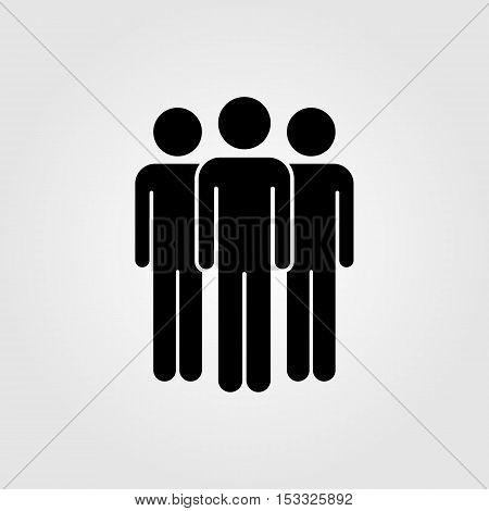 People vector icon team vector icon friends vector icon