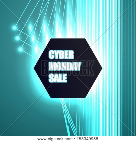 Vector Banner For Cyber Monday,