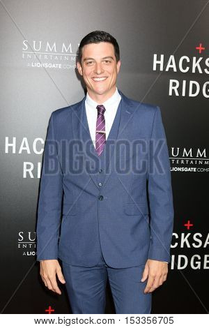LOS ANGELES - OCT 24:  James Mackay at the