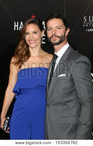 LOS ANGELES - OCT 24:  KaDee Strickland, Jason Behr at the