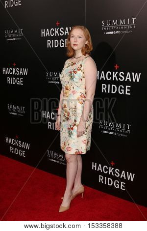 LOS ANGELES - OCT 24:  Molly Quinn at the