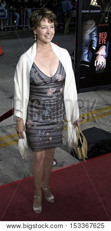 Kathleen Quinlan at the Los Angeles premiere of 'Red Eye' held at the Mann Bruin in Westwood, USA on August 4, 2005.