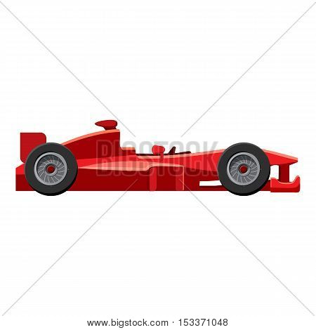 Sport car side view icon. Isometric 3d illustration of sport car side view vector icon for web