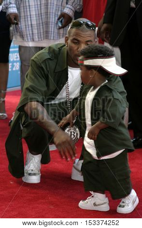 The Game at the 2005 BET Awards held at the Kodak Theater in Hollywood, USA on June 28, 2005.