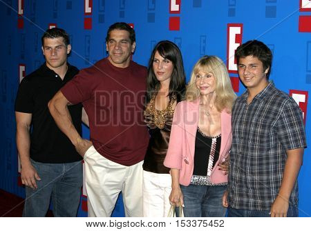 Lou Ferrigno at the E! Entertainment Television's Summer Splash Event held at the Roosevelt Hotel in Hollywood, USA on August 1, 2005.
