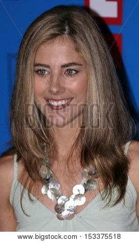 Elizabeth Jarosz at the E! Entertainment Television's Summer Splash Event held at the Hollywood Roosevelt Hotel's Tropicana Club in Hollywood, USA on August 1, 2005.