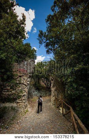 Rocca Sillana, Pomarance, Pisa - Italy