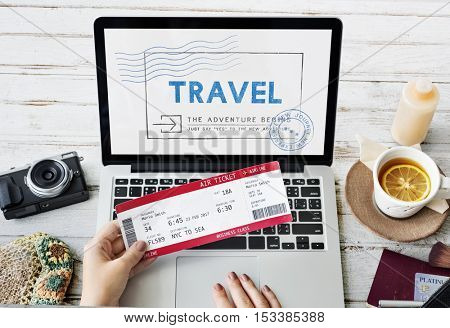 Holiday Travel Voyage Wanderlust Vacation Concept