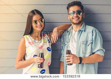 Stylish Teenage Couple