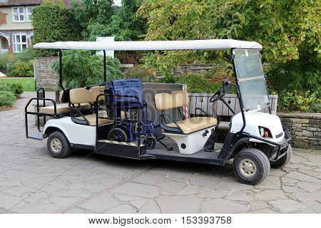 Electric Buggy Fully Equipped For Disabled People