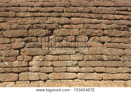 old brick wall background, brick  background .