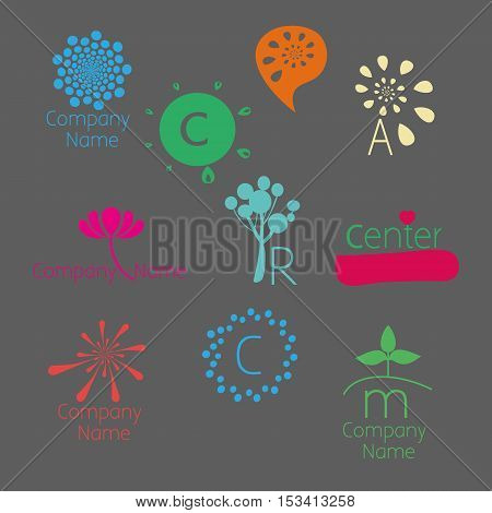 Version of the color logo. Can be used for: psychological counseling centers development coaching self-development courses children's centers family and child therapy etc.