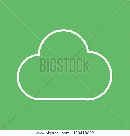 Cloudapp, group, media icon vector image. Can also be used for social media logos. Suitable for mobile apps, web apps and print media.