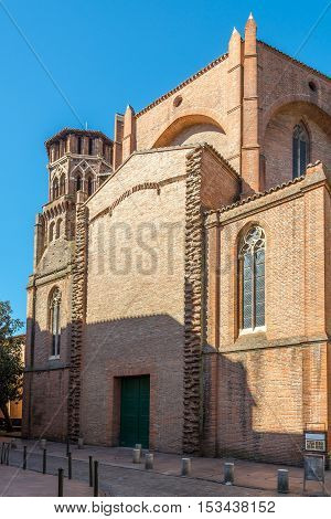 Church of Saint Jean Baptiste in Toulouse France