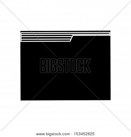 File icon. Folder document data and archive theme. Isolated design. Vector illustration