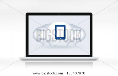 Digital Device Eletronics Equipment Technology Concept