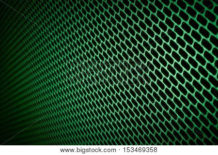 closeup of seamless  metallic grid