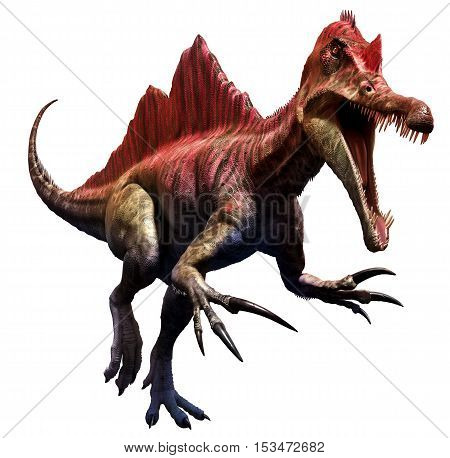 Ichthyovenator from the  Cretaceous era 3D illustration