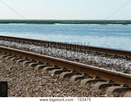 Rail Track By Sea