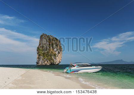 Boat Bay Food Life Marine Natural Sea Concept