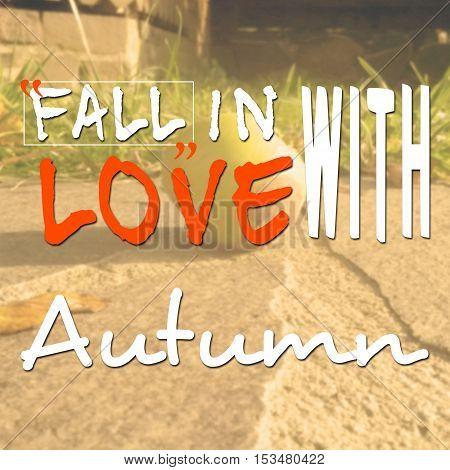 Motivational Message About Autumn Season