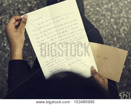 Letter Mail Correspondence Communication Connection Concept