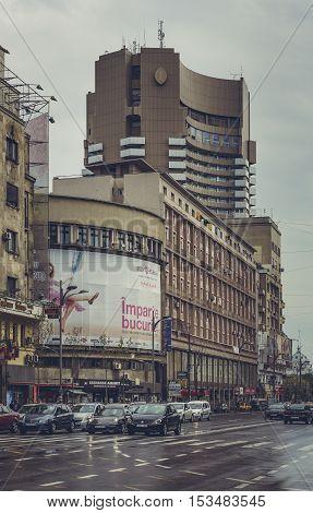 Magheru Boulevard, Bucharest, Romania