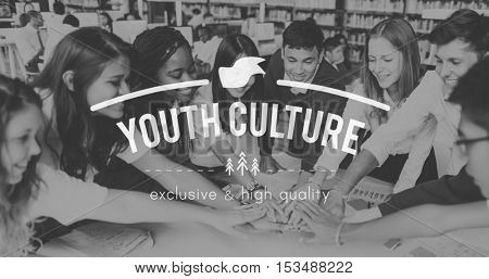 Young Youth Kids Student Teenager Concept