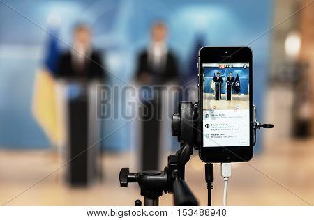 Shooting On A Mobile Phone