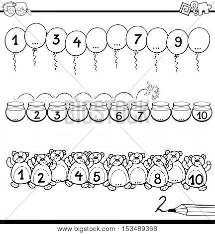 Maths Educational Coloring Page