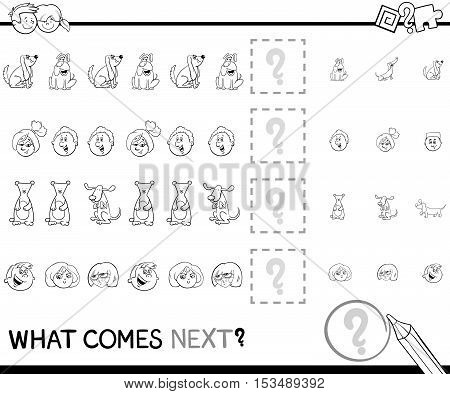 Pattern Game Coloring Page