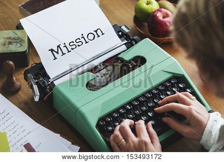 Mission Motivation Vision Aspiration Concept