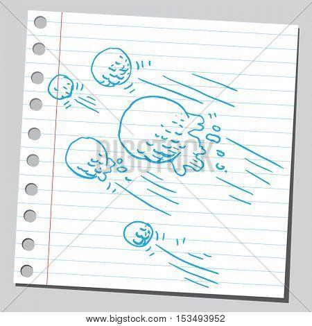 Snowballs in action