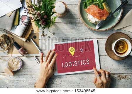 Shipping Logistic Delivery Freight Cargo Concept