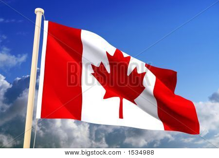 Canada Flag (Clipping Path)