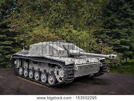 German self-propelled gun StuG III Ausf. G installation class assault guns of World War II