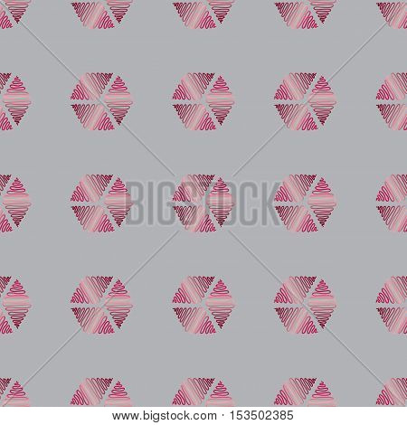 Vector seamless background. Modern abstract stylish texture.