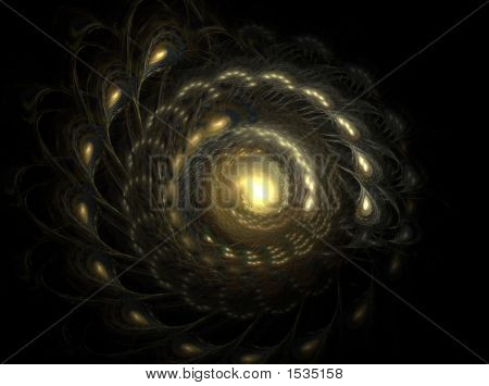 Spiral Fractal Galaxy