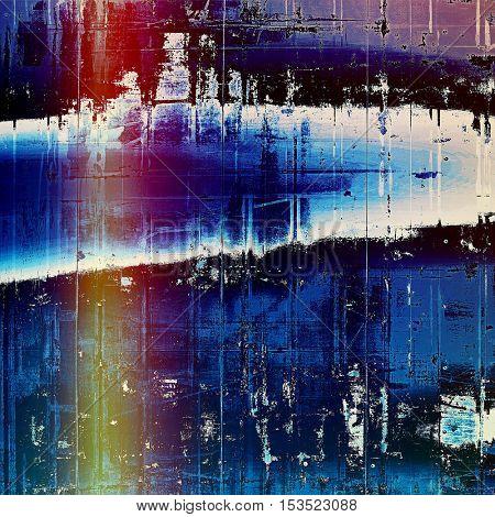 Art grunge background, vintage style textured frame. With different color patterns: yellow (beige); blue; red (orange); purple (violet); white; black
