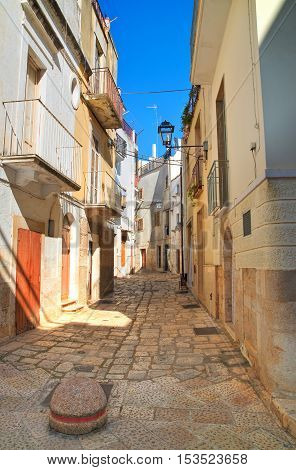 Image of an alleyway of Rutigliano. Puglia. Italy.