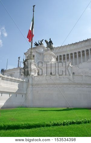 Rome .Italy. Monument to the Unknown Soldier