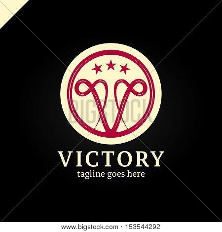 Victoria Logo,boutique Brand,v Letter Logo,boutique Hotel Logo,hotel Logo,luxury Logo,vector Logo Te