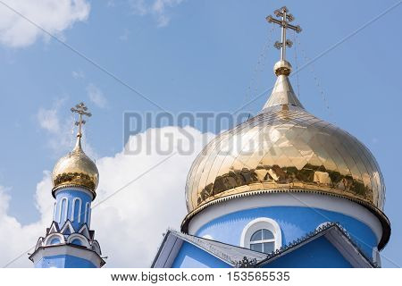 Golden Domed Monastery, in Bugulma city Tatarstan