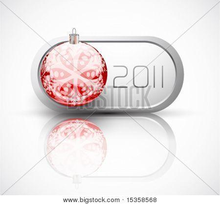 Conmutador de bola de Navidad año nuevo 2011