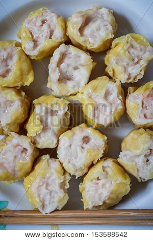 Dim Sum Chinese Dumplings, Chinese food, snack