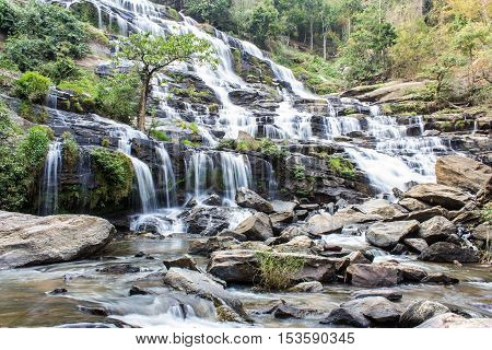 Mae Ya waterfall, Doi Inthanon national park, Chiang Mai  Thailand
