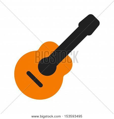 Guitar, party, music icon vector image.Can also be used for birthday. Suitable for use on web apps, mobile apps and print media.