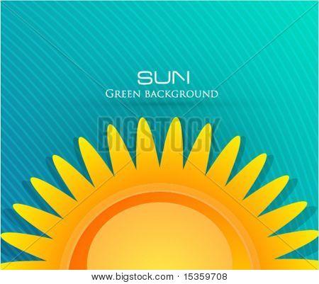 Fondo de sol Eps10