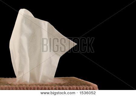 Tissue - Black Background