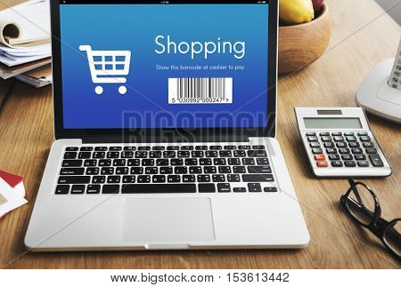 Shopping Purchase Order Discount Concept